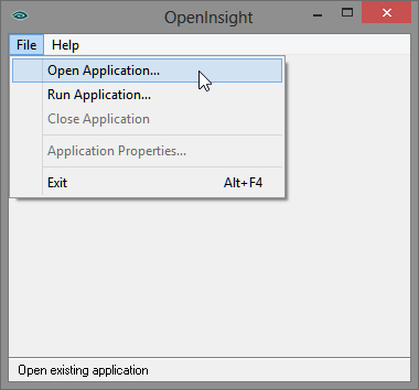 OpenApplication