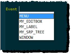 eventcontrolsdropdown