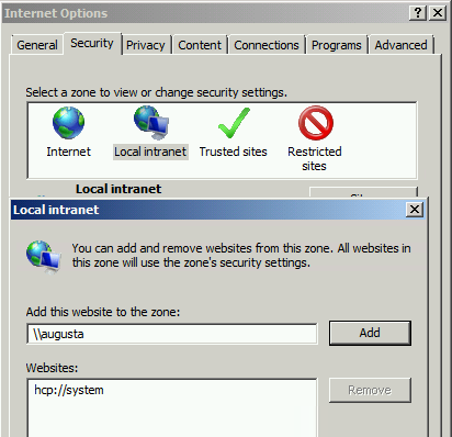 Resolving Open File Security Warning when Launching OpenInsight